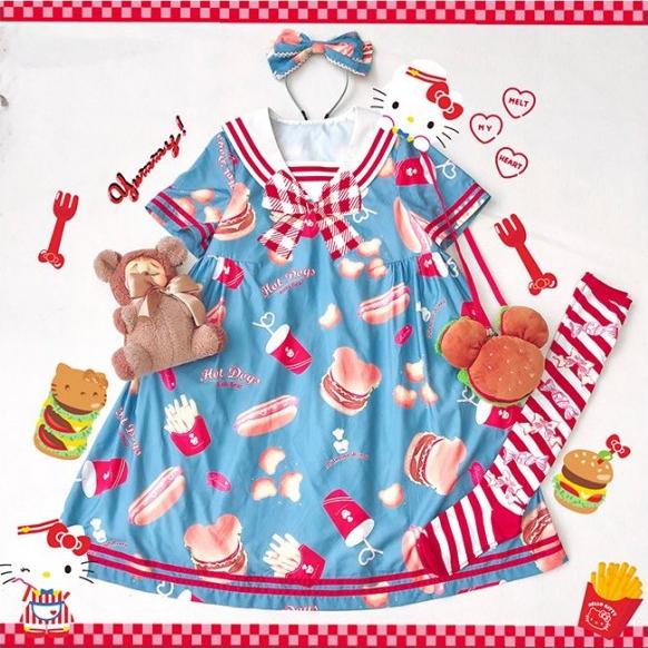 DiamondHoneyBearBurgers-Dress