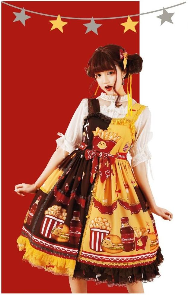 burger-dress Lolita
