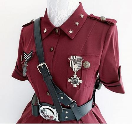 military lolita-garter