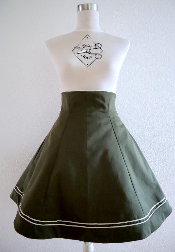 military-lolita-skirt